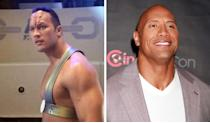 <p>The Rock was still just a wrestler when he played a Pendari champion (we don't know either) in an episode of 'Voyager' with one of those classic 'Star Trek' forehead prosthetics.</p>