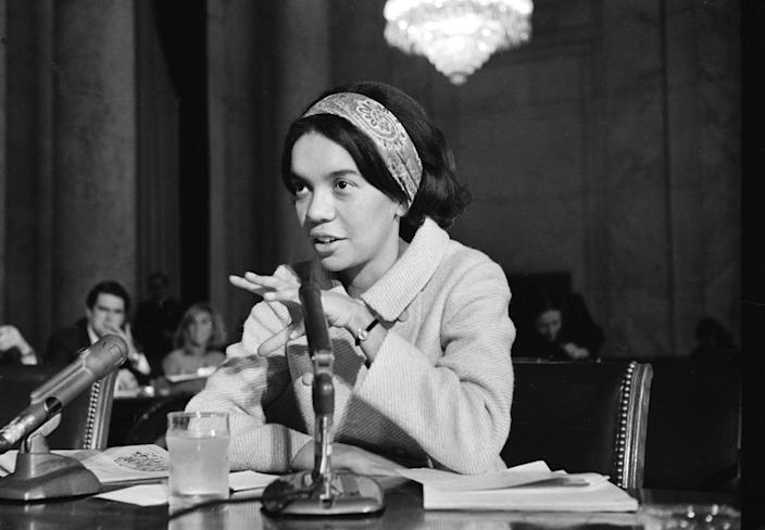 Marian Wright, an attorney for the NAACP legal defense fund, in 1967. (Photo: Henry Griffin/AP)