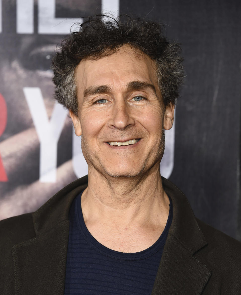 """FILE - Doug Liman attends the premiere of """"A Quiet Place"""" on April 2, 2018, in New York. In four months, in the middle of a pandemic and widespread shutdowns, filmmaker Doug Liman and his team wrote, shot and edited a glossy Harrods heist film in London with Anne Hathaway and Chiwetel Ejiofor. The result, """"Locked Down,"""" comes to HBO Max Thursday. (Photo by Evan Agostini/Invision/AP, File)"""