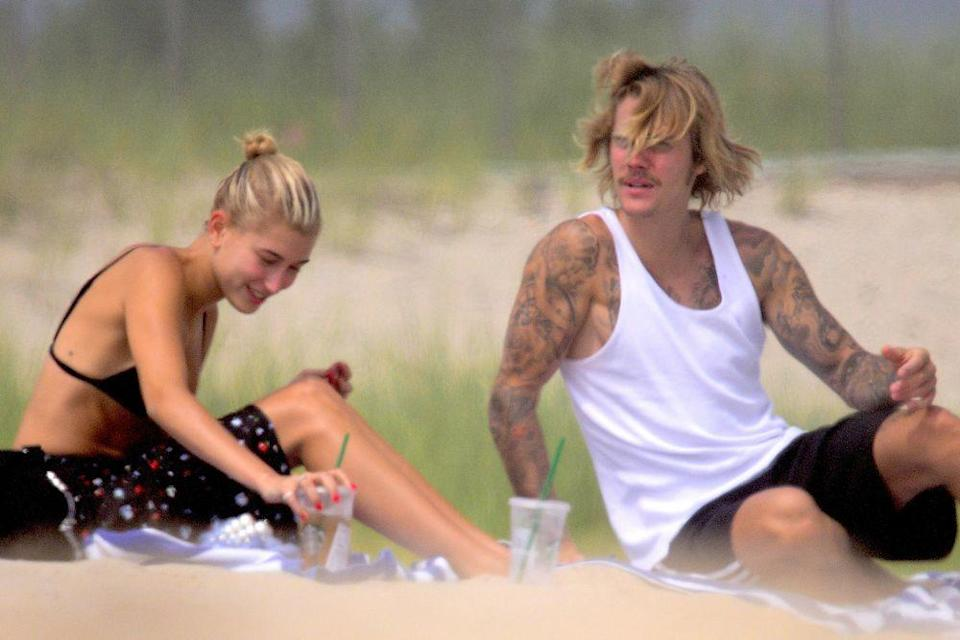 Hailey Baldwin and Justin Bieber (Photo: Getty Images)