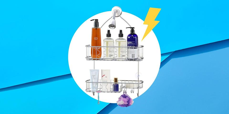 <p>If you aren't blessed with a gigantic bathroom, a shower caddy can help you work miracles in terms of making the most of your space. Especially when you've got way too many shampoo bottles, shower scrubs, and shaving lotions to count. </p><p>Luckily most shower caddies are super easy to hang, so don't worry about not knowing how to use a drill if handy skills aren't necessarily on your resume. </p><p>If you're in the market for a new one, here are the best (and easiest-to-install!) shower caddies of 2020. </p>