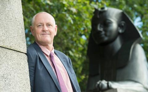 <span>Outgoing Centamin boss Andrew Pardey</span> <span>Credit: David Rose </span>