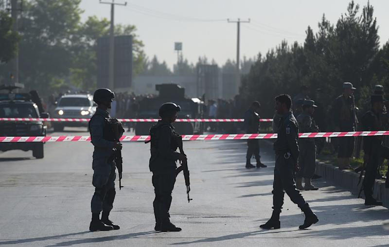 The suicide bombing at the Supreme Court in Kabul underscores growing insecurity in Afghanistan, where local forces are struggling to combat a resilient Taliban insurgency (AFP Photo/Shah Maria)