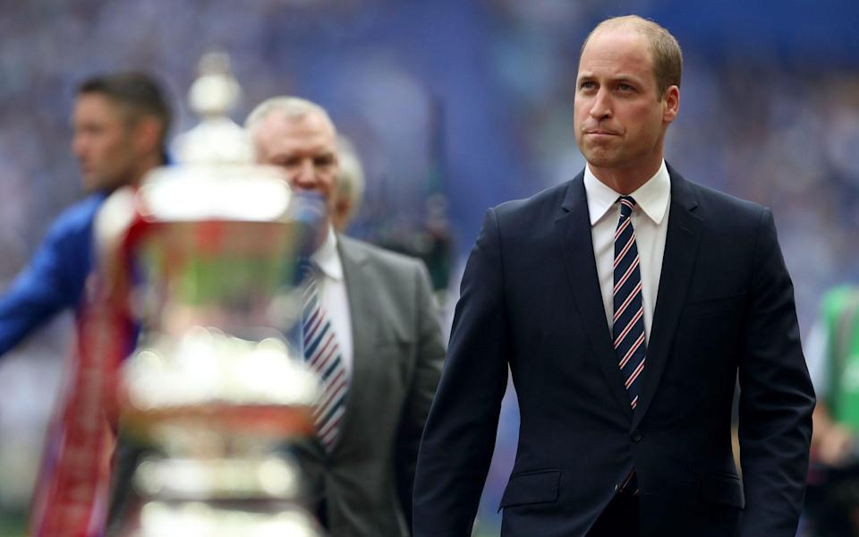 Prince William to attend FA Cup final and will present trophy - but on the pitch - PA