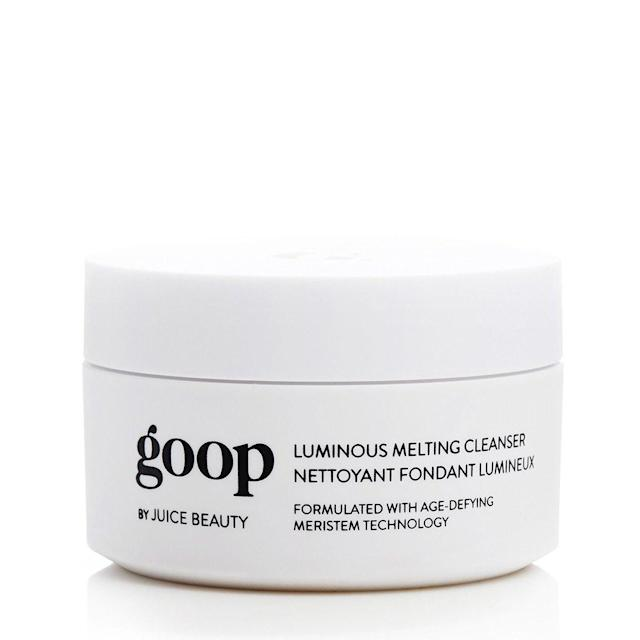 "<p>Sure, the extravagant products sold on Paltrow's Goop are easy to mock, but they're also hard to resist. For instance, would anyone refuse to try the pricey, but well-reviewed makeup remover that Paltrow swears by if it just <em>happened </em>to show up under your tree? No way! This is the perfect gift for your friend who would never buy this luxe product for herself.<br><br><strong>Buy: <a href=""https://shop.goop.com/shop/products/luminous-melting-cleanser"" rel=""nofollow noopener"" target=""_blank"" data-ylk=""slk:Goop"" class=""link rapid-noclick-resp"">Goop</a></strong> </p>"