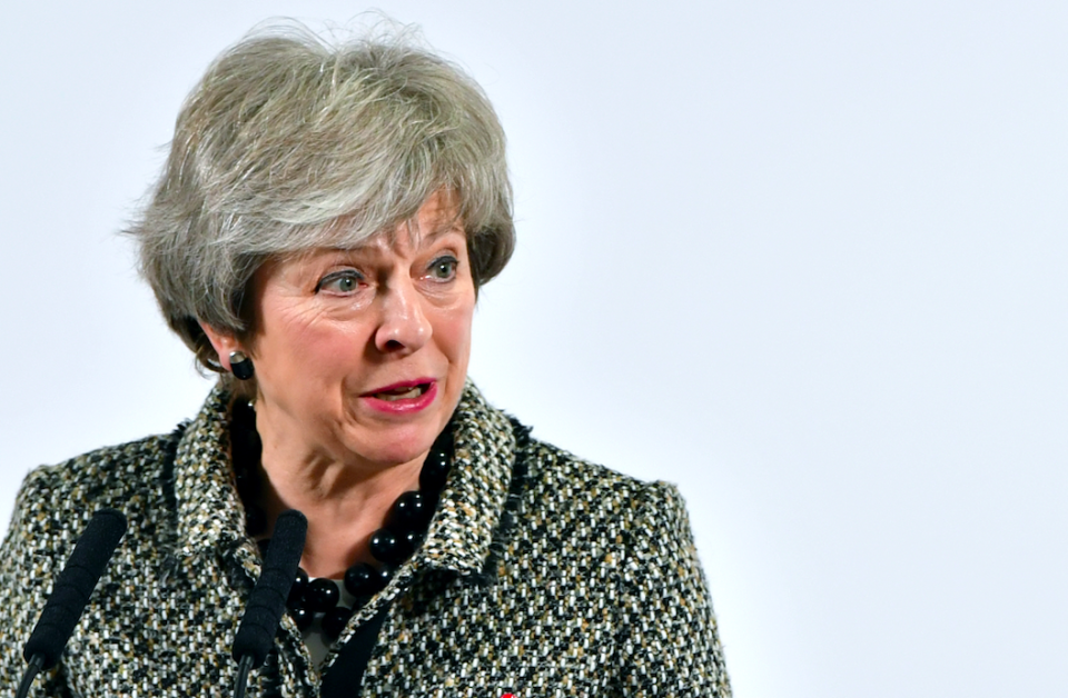<em>The Prime Minister is heading for a Commons defeat over her deal with the EU (Getty)</em>