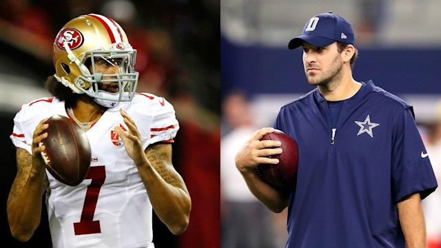 Denver exec John Elway told SN he plans to add another quarterback. Does that mean Colin Kaepernick or Tony Romo?