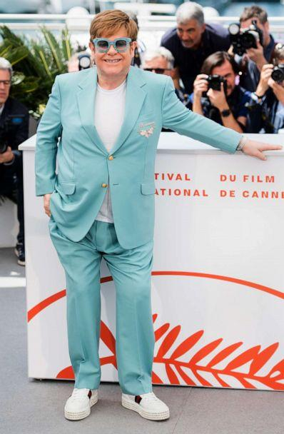 PHOTO: Elton John attends the photocall for 'Rocketman' during the Cannes Film Festival, May 16, 2019 in Cannes, France. (Samir Hussein/WireImage/Getty Images)