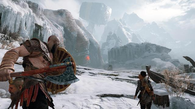 'God of War' brings along some incredible sights.