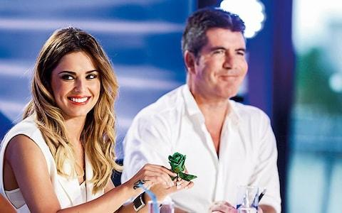 Cheryl on The X Factor with Simon Cowell, 2014 - Credit: PA SHOWBIZ