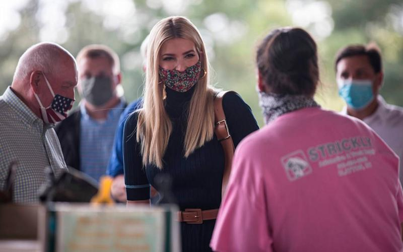 Ivanka Trump brings in $7.5 million for dad's campaign at Florida, Texas fundraisers