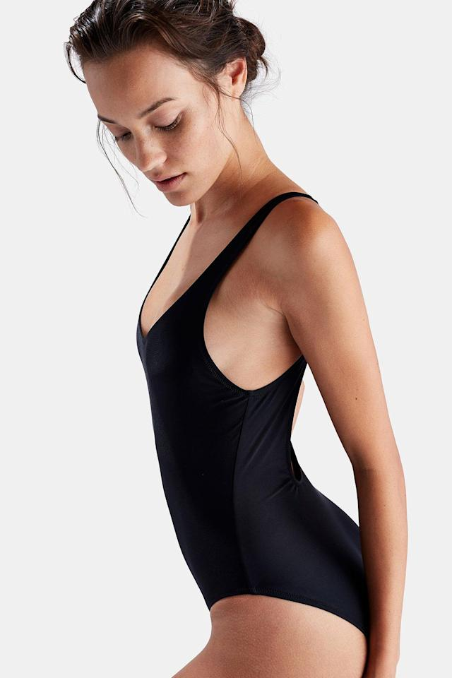"Solid & Stripe's best-selling one-piece. ( <a href=""https://www.solidandstriped.com/collections/best-sellers/products/the-anne-marie-black-2?variant=43231051540"" rel=""nofollow noopener"" target=""_blank"" data-ylk=""slk:Solid & Striped"" class=""link rapid-noclick-resp"">Solid & Striped</a>)"