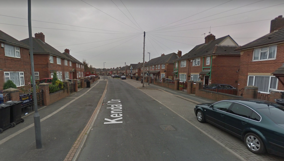 Police were called to Kendal Drive in Halton, Leeds, where a group of youths then turned on officers. (Google Maps)