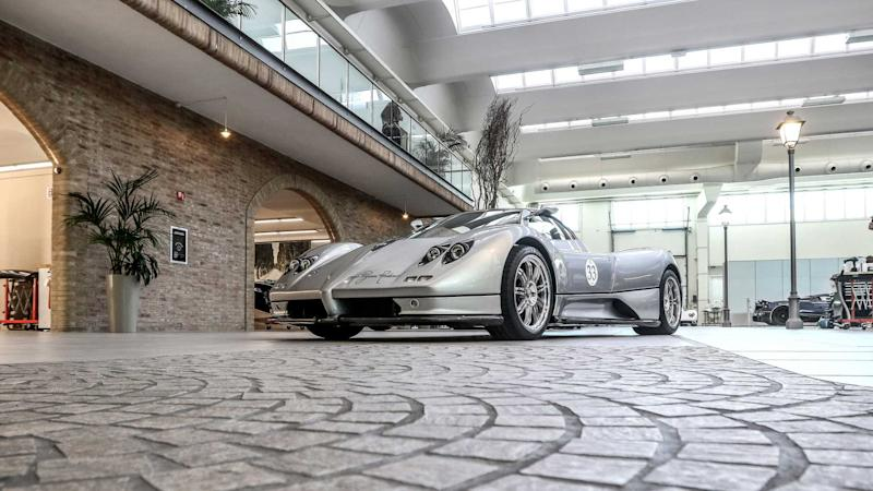 made in Motor Valley pagani