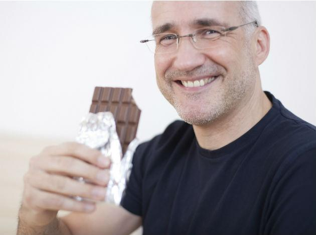"<b>Chocolate to reduce risk of stroke:</b> Research in Sweden suggests that eating a bar of chocolate a week can lower a man's risk of stroke by 17%. <a target=""_blank"" href=""http://www.guardian.co.uk/science/2012/aug/29/chocolate-reduces-risk-of-strokes-for-men"">More details on the study here.</a>"