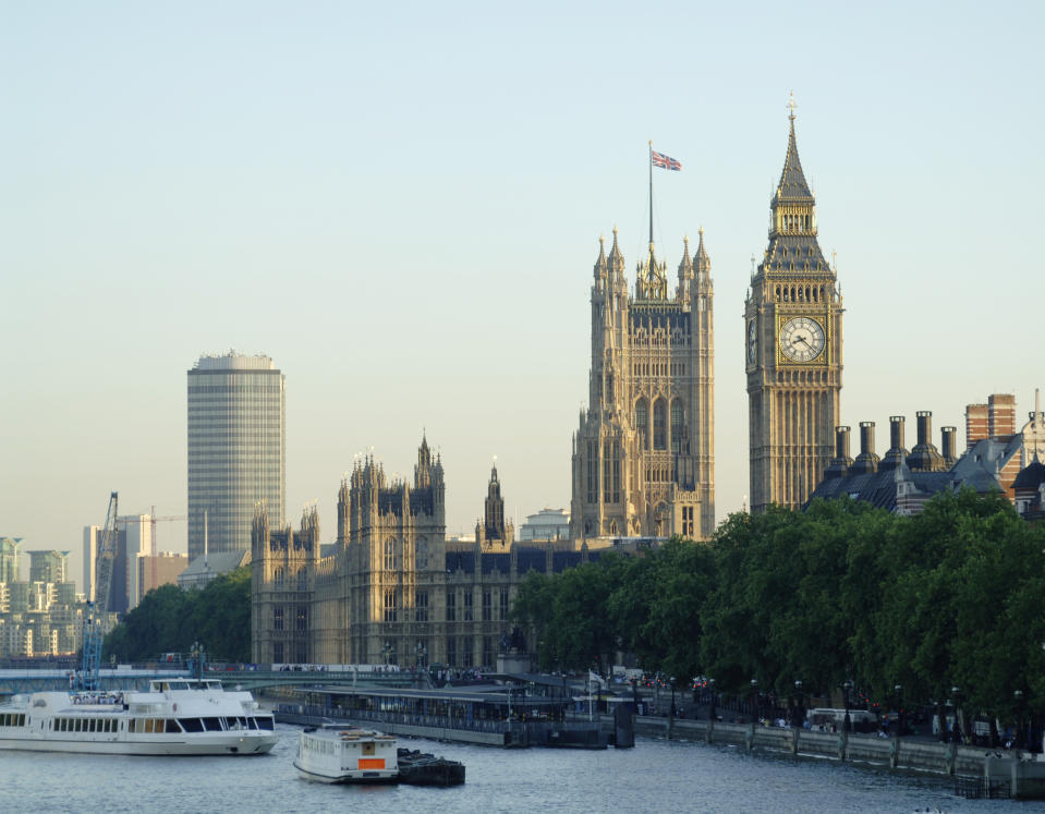 Houses of Parliament and Big Ben in London. Photo: Getty