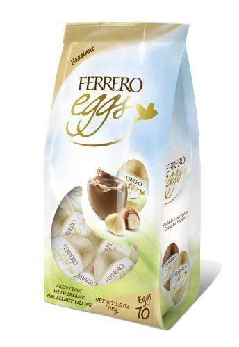 """<p><strong>Ferrero Rocher</strong></p><p>amazon.com</p><p><strong>$32.00</strong></p><p><a href=""""https://www.amazon.com/dp/B005I2CEZO?tag=syn-yahoo-20&ascsubtag=%5Bartid%7C10070.g.2201%5Bsrc%7Cyahoo-us"""" rel=""""nofollow noopener"""" target=""""_blank"""" data-ylk=""""slk:Shop Now"""" class=""""link rapid-noclick-resp"""">Shop Now</a></p><p>Ferrero Rocher chocolates get a festive twist with this gorgeous Easter egg packaging that works as the perfect gift or table decoration. </p>"""
