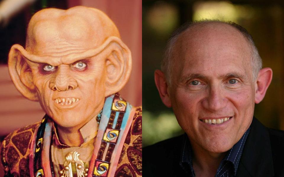 <p>Ferengi bartender Quark appeared in three different 'Star Trek' shows, but is most keenly associated with DS9 where his money-grabbing character was often at odds with Odo, the station's security chief. He's a TV regular appearing in shows like 'Boston Legal', 'Buffy', and 'Stargate SG1′ but he's probably best known now for his voice work in the 'Ratchet & Clank' video game series playing Dr. Nefarious. </p>