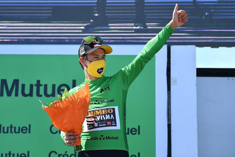 Roglic also won the points classification