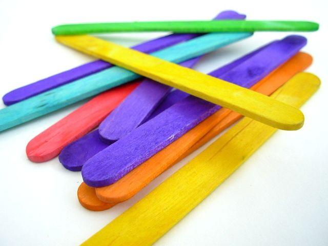 5 Pre-School Learning Activities Using Ice Cream Sticks