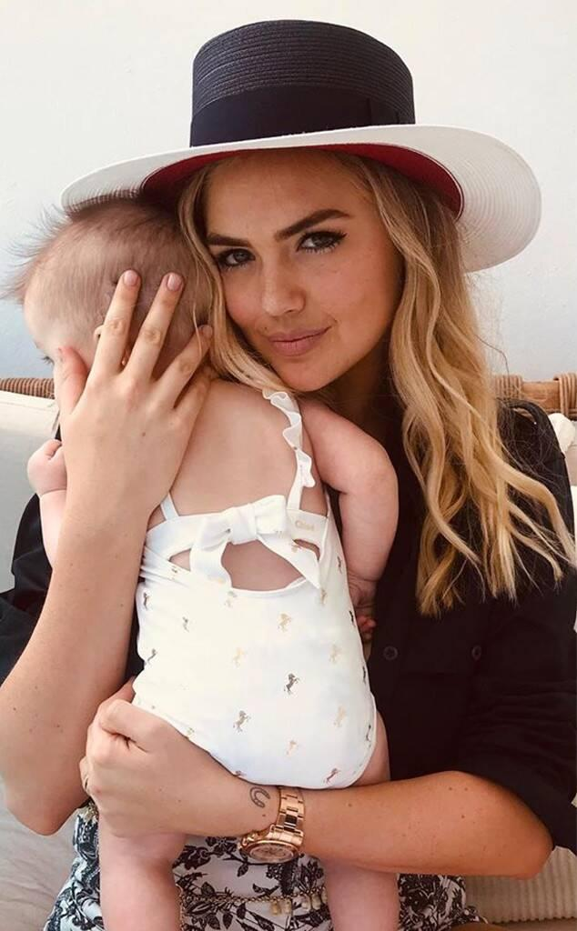 Kate Upton, Daughter, Genevieve, Mother's Day 2019