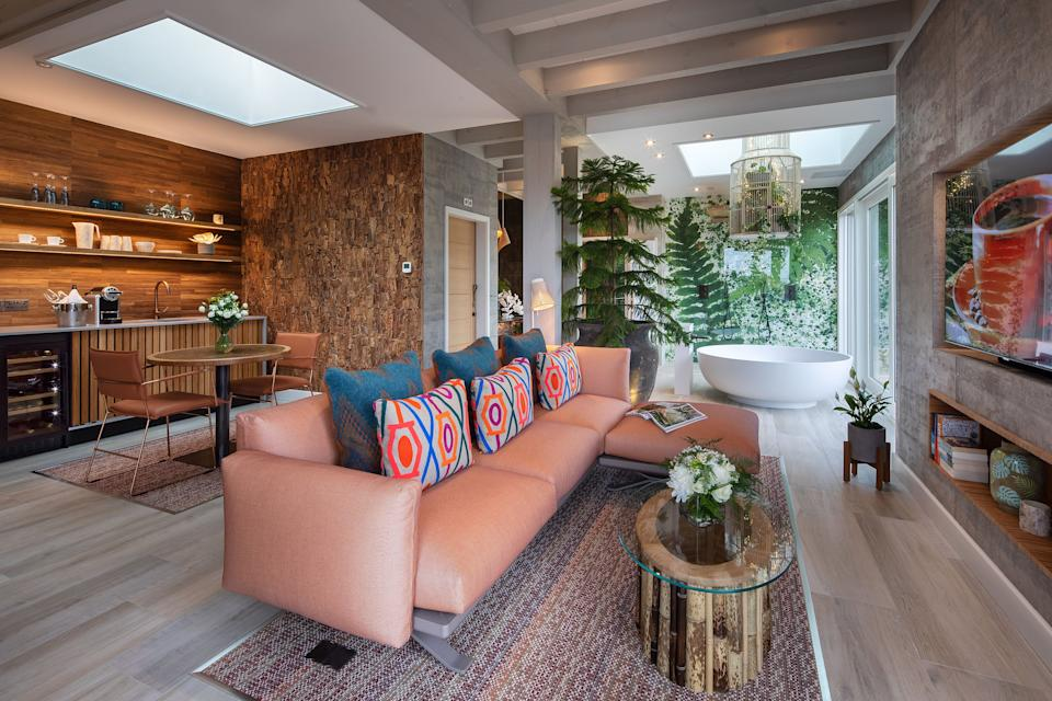 Spa Suites offer open-plan luxuryGilpin Hotel
