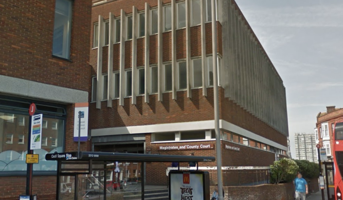 He appeared at Margate Magistrate's Court on Thursday. (Google)