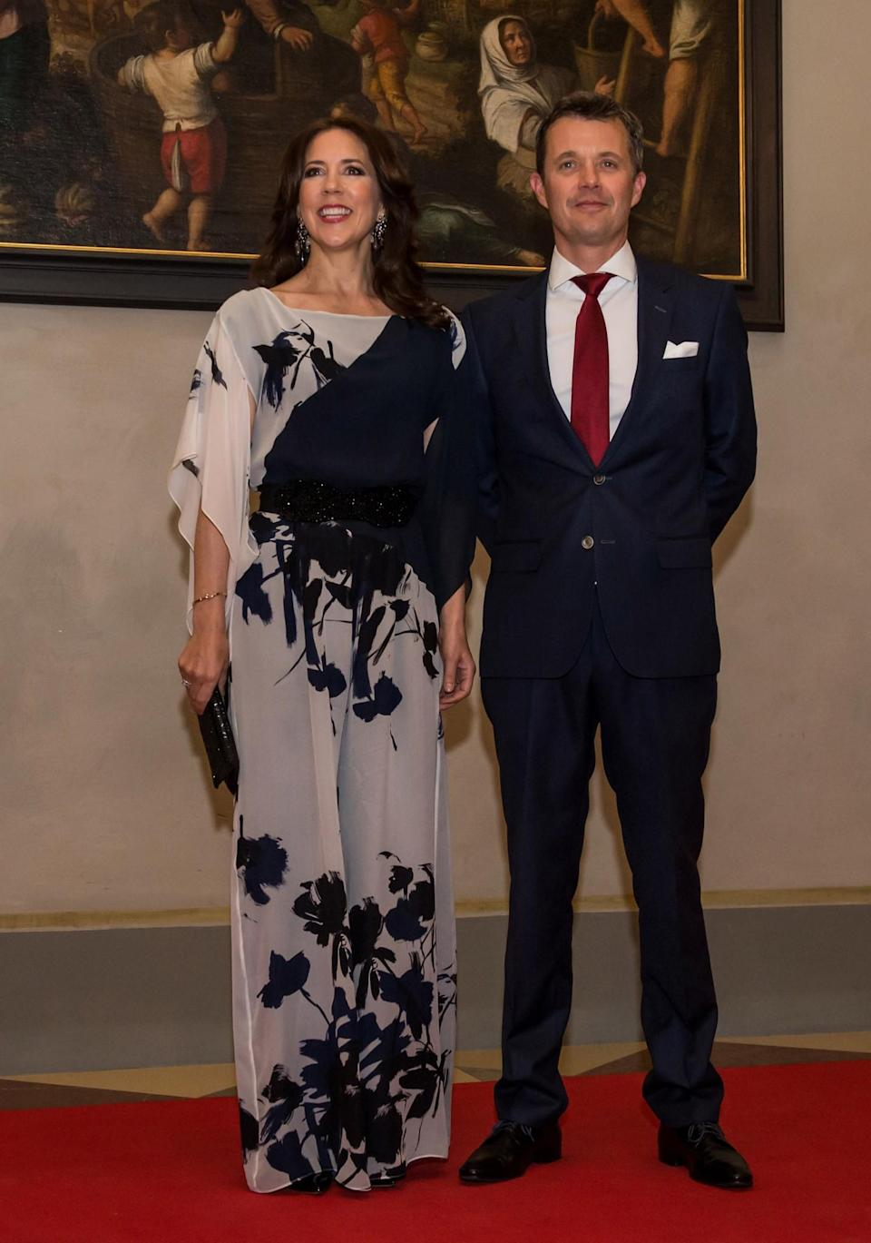 <p>Mary regularly makes it on the best dressed royals list for her somewhat edgy yet still appropriate sartorial choices. Her fairytale-like gowns are always a sight to behold. As for daywear, she favours tailored skirt suits that are true workwear goals. <i>[Photo: Getty]</i> </p>