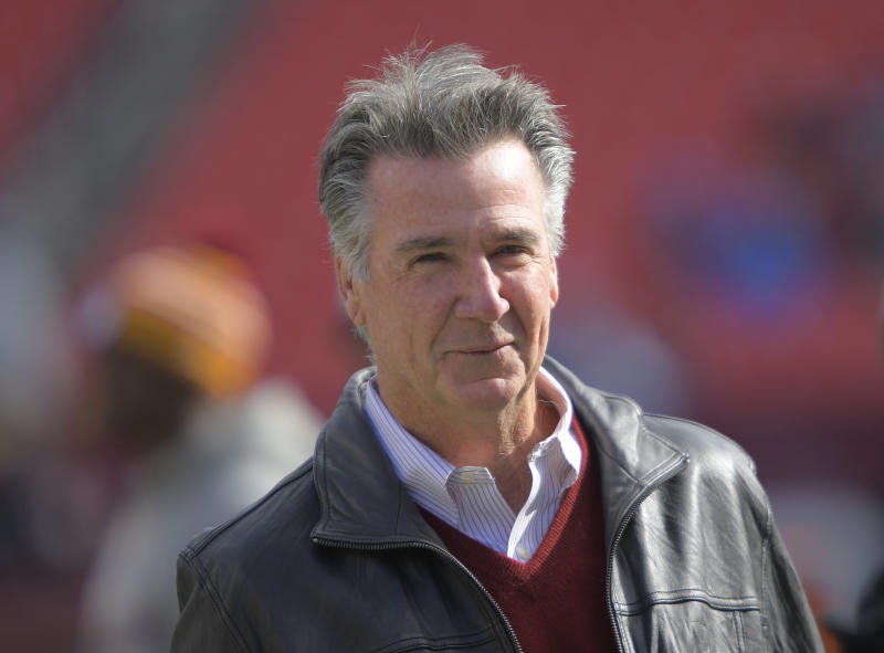 Redskins team president Bruce Allen has overseen more than 100 losses in 10 years. (John McDonnell/The Washington Post via Getty Images)