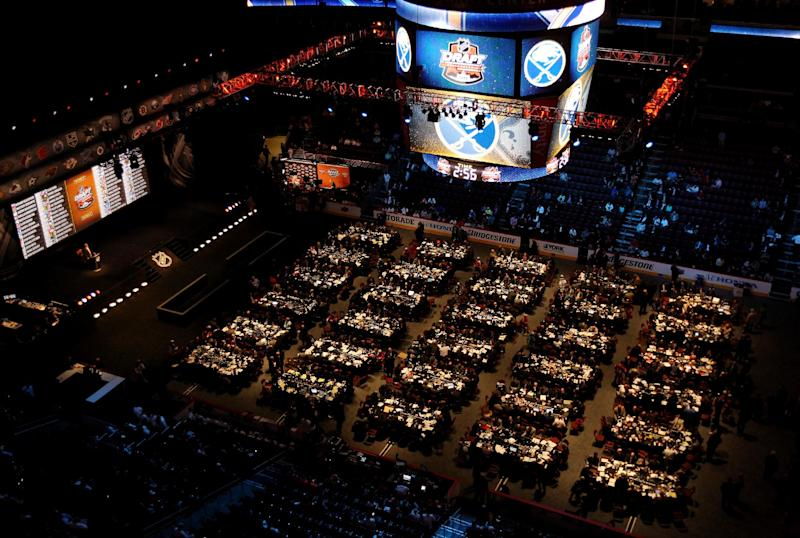 Day Two of the 2014 NHL Draft at the Wells Fargo Center on June 28, 2014 in Philadelphia, Pennsylvania