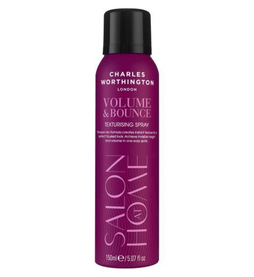 "If you're ordering from outside the U.K., you might be hard-pressed to find this salon essential. Get it at <a href=""http://www.boots.com/charles-worthington-volume-bounce-texturising-spray"" target=""_blank"">Boots</a> for about $10."