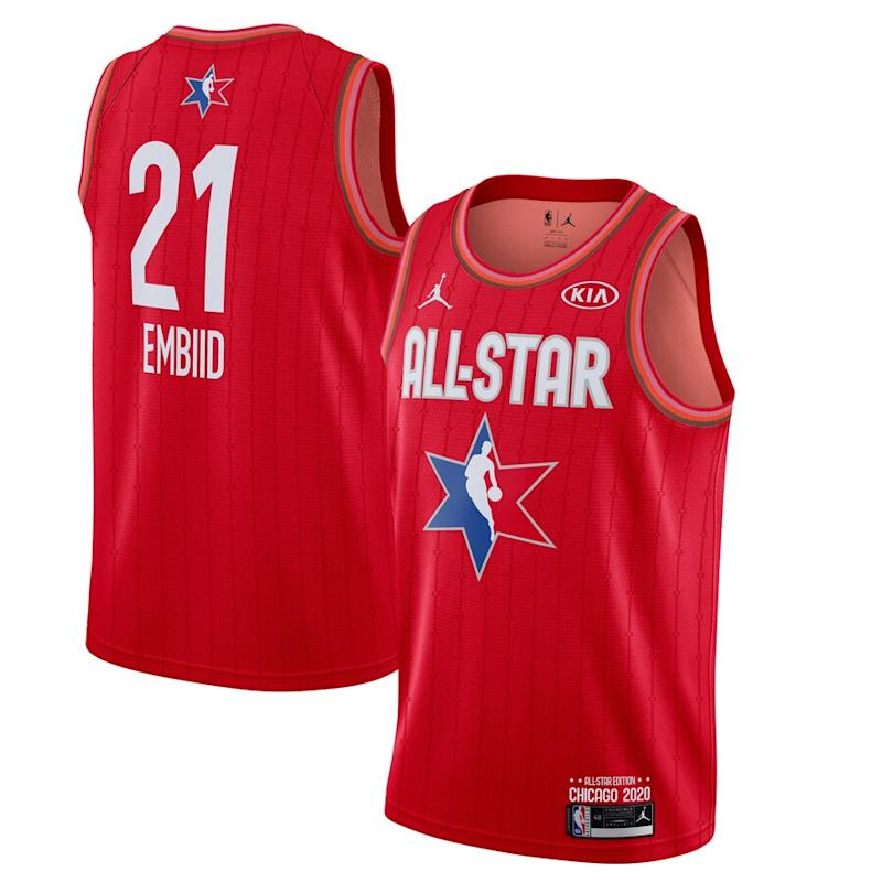 Embiid Jordan Brand 2020 NBA All-Star Game Jersey