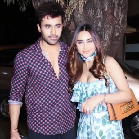 Krystle D Souza Supports Pearl V Puri