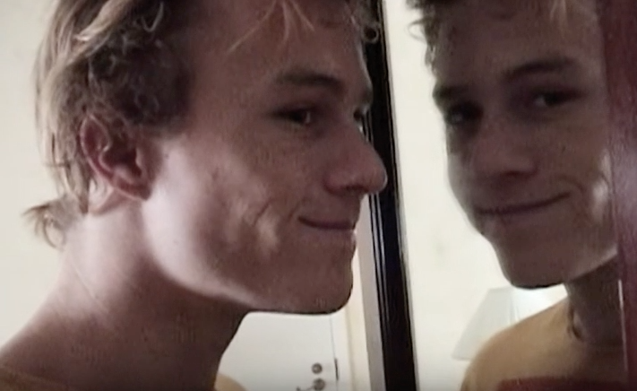 Heath Ledger in footage from the upcoming documentary
