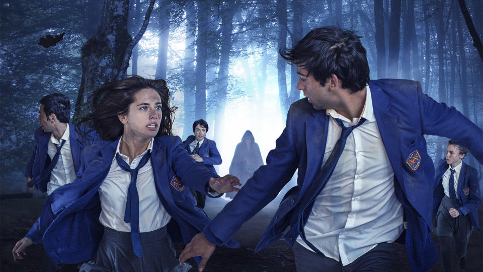 'El Internado: Las Cumbres'. (Credit: Amazon)