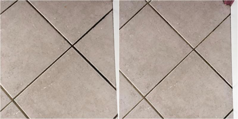 How to get grout out of tiles
