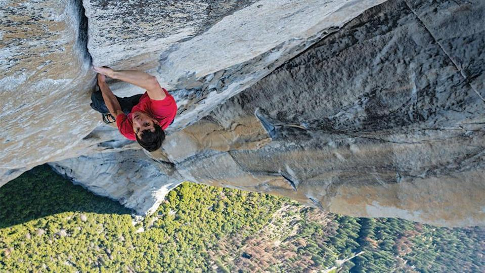 """""""Free Solo"""" - Credit: Jimmy Chin/National Geographic"""