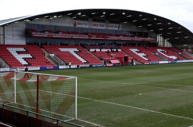 EFL grounds are set to remain empty for the remainder of the regular season