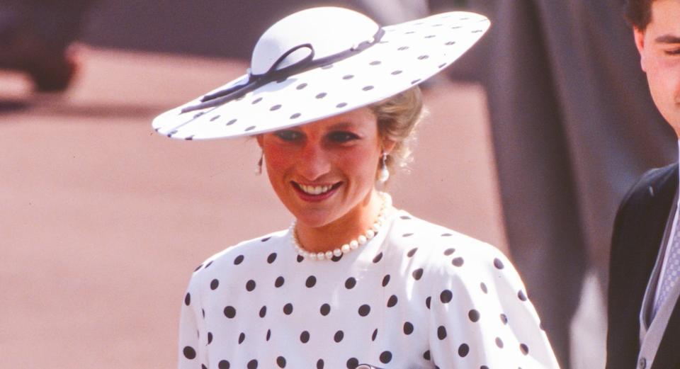 Princess Diana's style is back in fashion, says an ex-Vogue editor [Image: Getty]