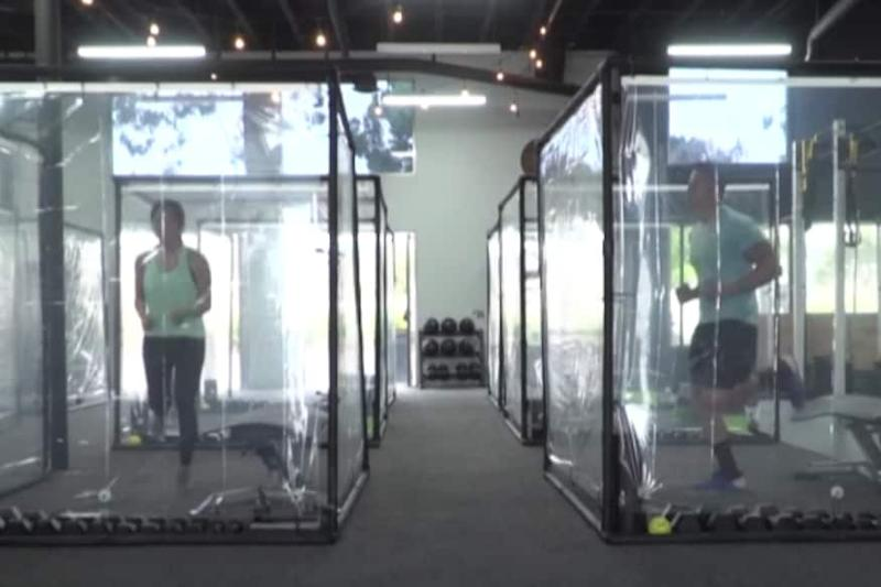 California Gym Has an Answer to Working Out During Coronavirus Pandemic: Plastic Pods
