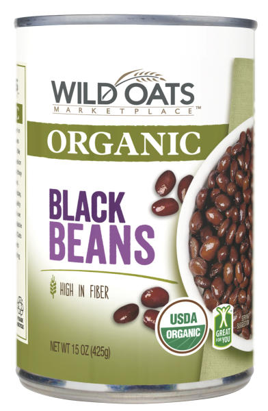 <p> This product image provided Wal-Mart shows Wild Oats organic black beans. The world's largest retailer on Thursday, April 10, 2014 said that it has teamed up with Wild Oats to sell a new line of organic foods, starting this month, that's at least 25 percent cheaper than the national organic brands it carries and in line with the prices of its branded non-organic alternatives. Wild Oats helped pioneer the organic food trend in the late 1980s but has largely disappeared from store shelves since 2007. (AP Photo/Wal-Mart) </p>