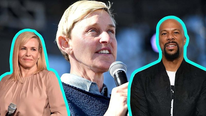 Ellen DeGeneres, Cynthia Nixon and More Stars Highlight Refugee Crisis, Protest Trump On July 4th