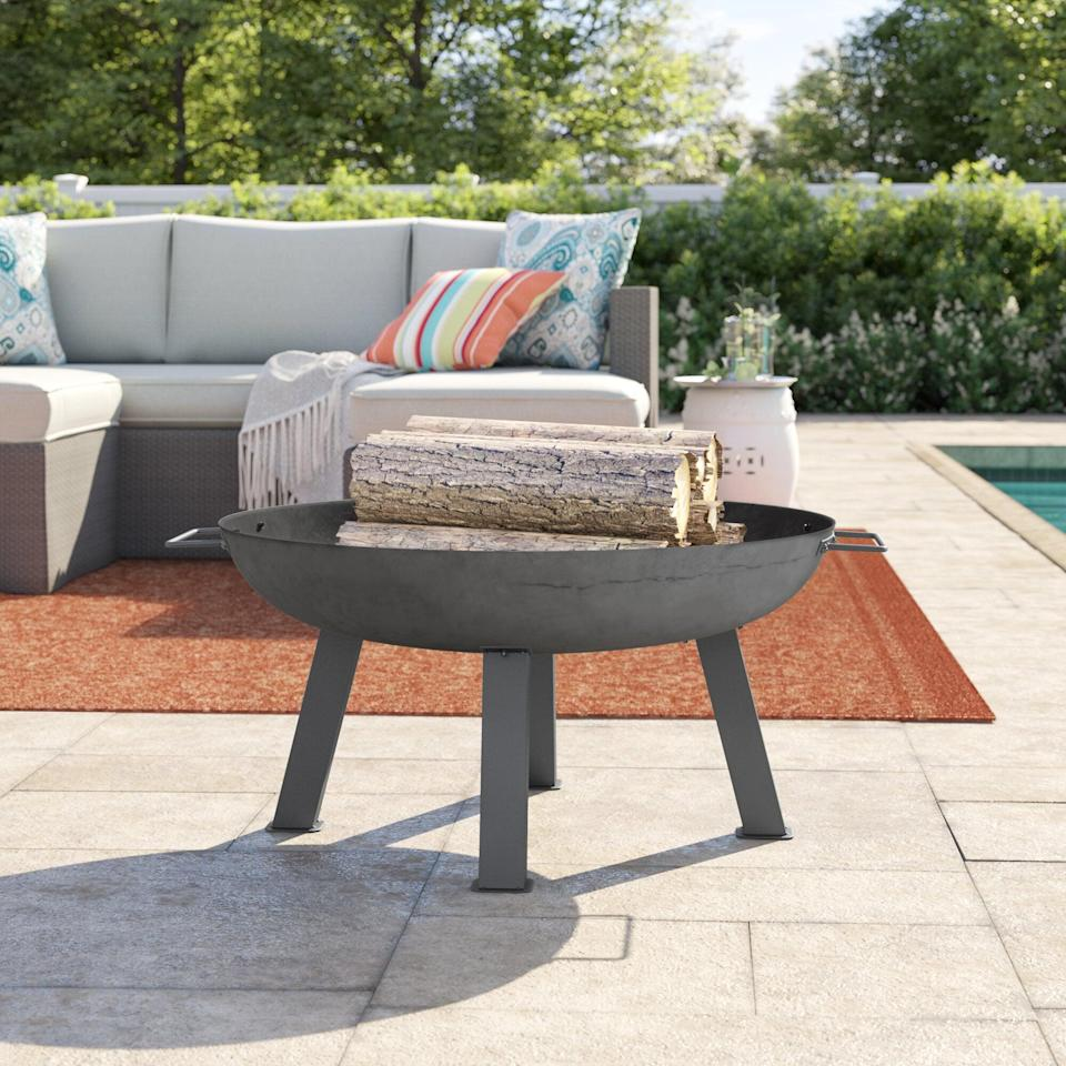 <p>This <span>Ocala Union Cast Iron Wood Burning Fire Pit</span> ($135, originally $170) will add the perfect amount of heat to a chilly winter night.</p>