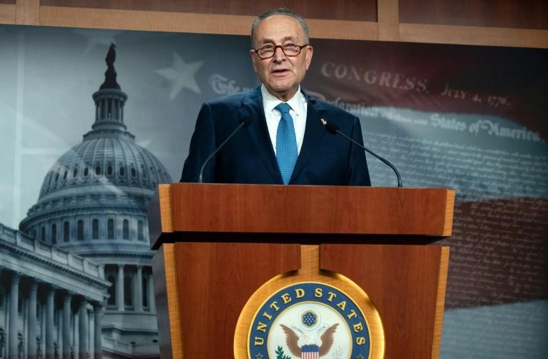 New US Senate Minority Leader Chuck Schumer comes to the job facing a series of political crises, including the impeachment trial of former president Donald Trump and an impasse over power-sharing in an evenly divided US Senate