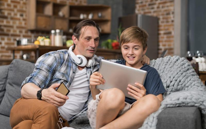 Quality time: A tutor can mean time with your children isn't all about schoolwork. - iStockphoto