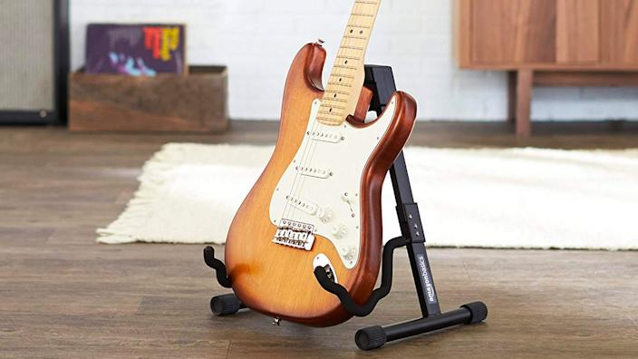 Best gifts for musicians: AmazonBasics A-frame instrument stand