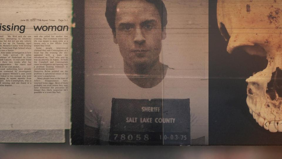 """<p><strong>Conversations With a Killer: The Ted Bundy Tapes</strong> reveals the disturbing case of notoriously horrific killer Ted Bundy in his own words.</p> <p>Watch <a href=""""https://www.netflix.com/watch/80226550"""" class=""""link rapid-noclick-resp"""" rel=""""nofollow noopener"""" target=""""_blank"""" data-ylk=""""slk:Conversations With a Killer: The Ted Bundy Tapes""""><strong>Conversations With a Killer: The Ted Bundy Tapes</strong></a> on Netflix now.</p>"""