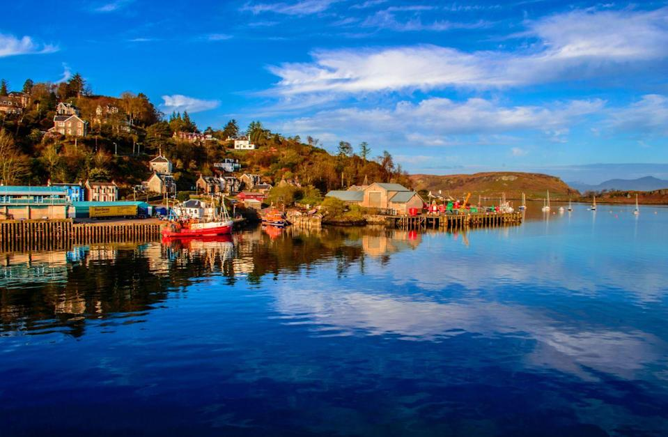"""<p>The pretty coastal town of Oban is in Argyll on the west coast of Scotland.</p><p><a class=""""link rapid-noclick-resp"""" href=""""https://www.countrylivingholidays.com/tours/scottish-highlands-islands-luxury-yacht-spring-cruise"""" rel=""""nofollow noopener"""" target=""""_blank"""" data-ylk=""""slk:SEE OBAN BY LUXURY YACHT"""">SEE OBAN BY LUXURY YACHT</a></p>"""