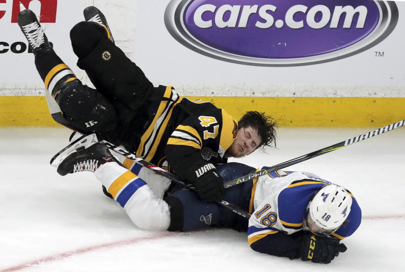 The Latest Boston Bruins Force Game 7 In Stanley Cup Final
