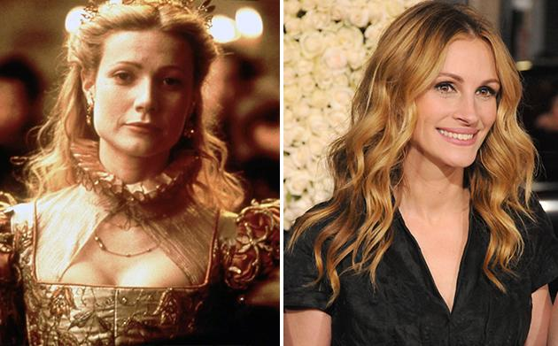 "Julia Roberts dropped out of ""Shakespeare in Love,"" allowing Gwyneth Paltrow to step in for the Oscar win."